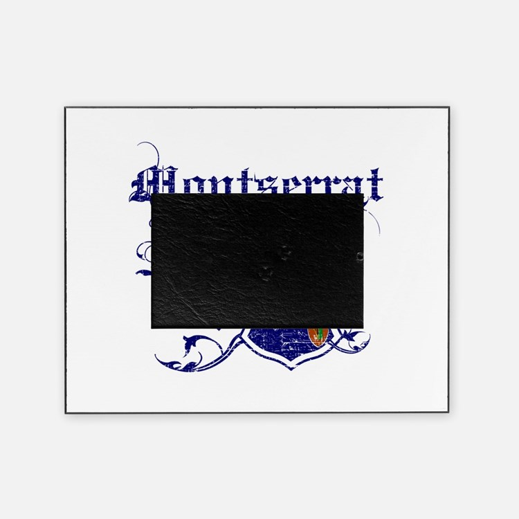 Montserrat for life designs Picture Frame