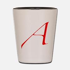 Dawkins' Atheist A Symbol Shot Glass