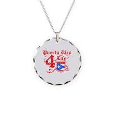 Puerto Rico for life designs Necklace