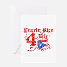 Puerto Rico for life designs Greeting Card