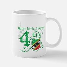 Saint Kitts and Nevis for life designs Mug