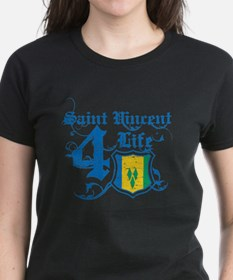Saint Vincent for life designs Tee