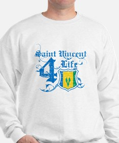 Saint Vincent for life designs Sweatshirt