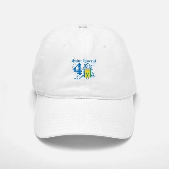 Saint Vincent for life designs Baseball Baseball Cap