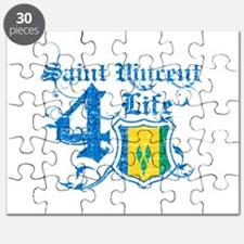 Saint Vincent for life designs Puzzle
