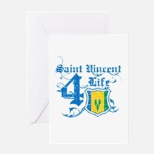 Saint Vincent for life designs Greeting Card