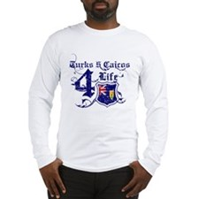 Turks and Caicos Island for life designs Long Slee