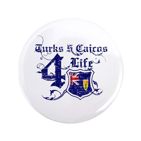 "Turks and Caicos Island for life designs 3.5"" Butt"