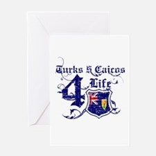 Turks and Caicos Island for life designs Greeting