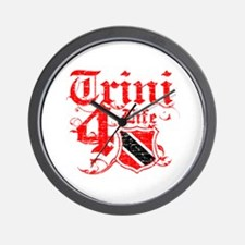 Trinidad and Tobago for life designs Wall Clock