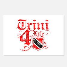 Trinidad and Tobago for life designs Postcards (Pa