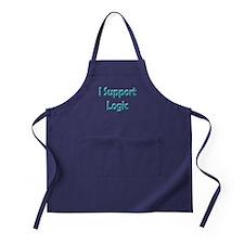 I Support Logic Apron (dark)