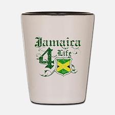 Jamaica for life designs Shot Glass