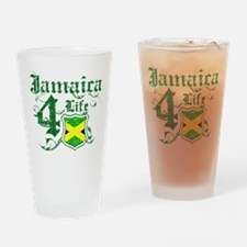 Jamaica for life designs Drinking Glass
