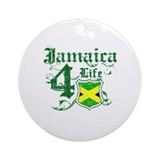 Jamaica for life designs Ornament (Round)