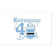 Botswana for life designs Postcards (Package of 8)