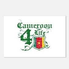 Cameroon for life designs Postcards (Package of 8)