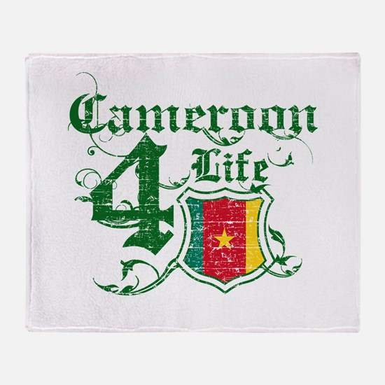 Cameroon for life designs Throw Blanket