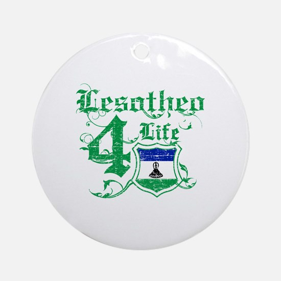 Lesotho for life designs Ornament (Round)