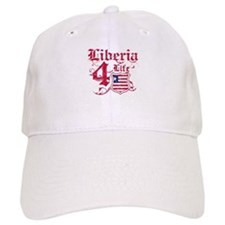 Liberia for life designs Baseball Cap