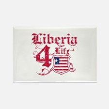 Liberia for life designs Rectangle Magnet