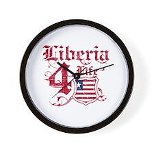 Liberia for life designs Wall Clock
