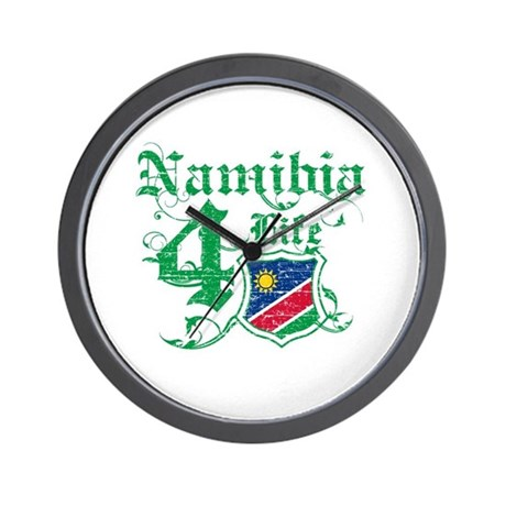Namibia for life designs Wall Clock