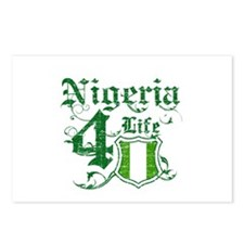 Nigeria for life designs Postcards (Package of 8)