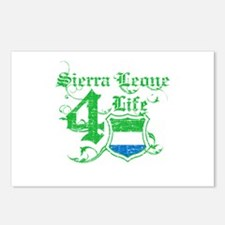 Sierra Leone for life designs Postcards (Package o