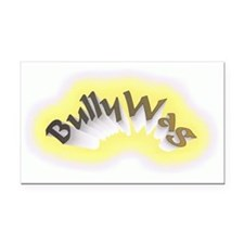 BullyWag burst Rectangle Car Magnet