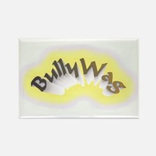 BullyWag burst Rectangle Magnet