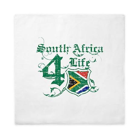 South Africa for life designs Queen Duvet