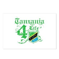 Tanzania for life designs Postcards (Package of 8)
