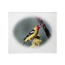 Pretty Bird Throw Blanket