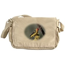Pretty Bird Messenger Bag