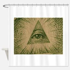 Eye on Your Dollar Shower Curtain