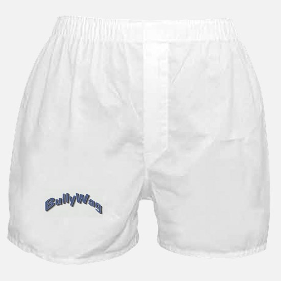 BullyWag blue arch Boxer Shorts