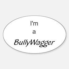 bullywagger Sticker (Oval)