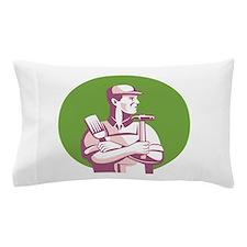 Carpenter Painter Construction Worker Pillow Case
