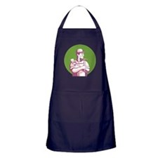 Carpenter Painter Construction Worker Apron (dark)