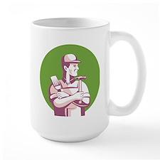 Carpenter Painter Construction Worker Mug