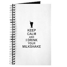 Keep Calm Milkshake Journal