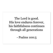 Psalms 100:5 Postcards (Package of 8)
