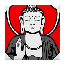 Buddha Soul Window Tile Coaster