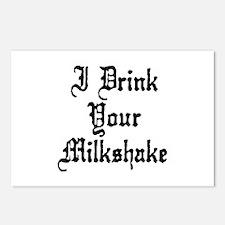 I Drink Your Milkshake Postcards (Package of 8)