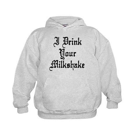 I Drink Your Milkshake Kids Hoodie