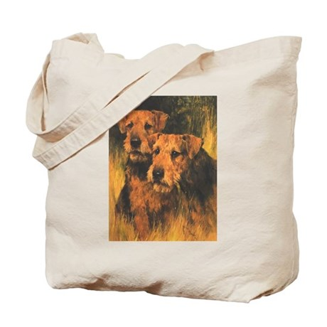 Wardle's Airedale Terriers Tote Bag