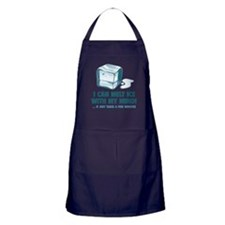 I Can Melt Ice With My Mind Apron (dark)