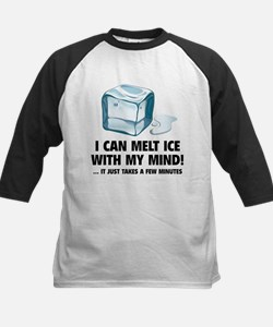 I Can Melt Ice With My Mind Kids Baseball Jersey