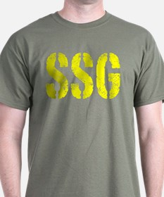 Staff Sergeant SSG rank T-Shirt